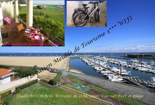 Flat in ARCACHON - Vacation, holiday rental ad # 39844 Picture #1