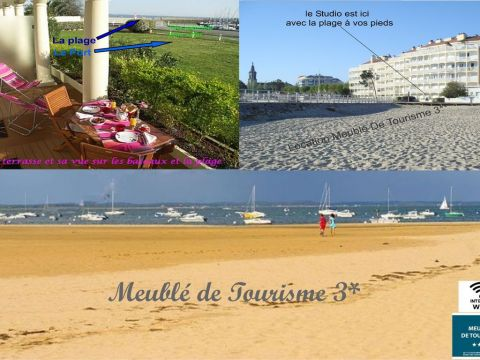 Flat in ARCACHON - Vacation, holiday rental ad # 39844 Picture #6