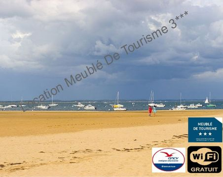 Flat 2 people Arcachon - holiday home  #39844