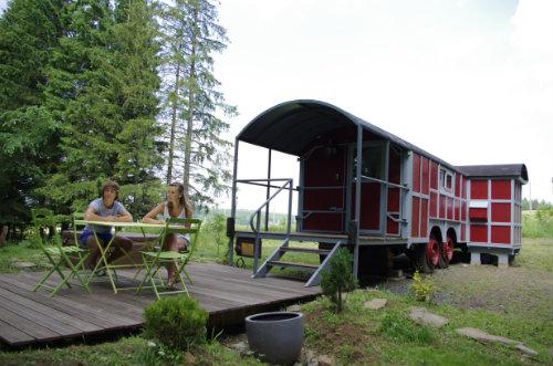 Gite à Landeyrat pour  4 •   avec terrasse