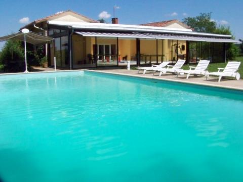 Maison Monclar De Quercy - 12 personnes - location vacances  n°39944
