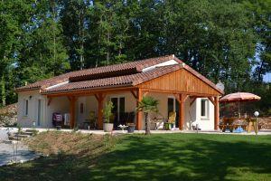 Gite 5 people Salviac - holiday home  #39331