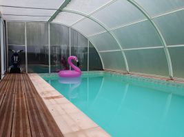 Gite in Guer voor  7 •   met privé zwembad