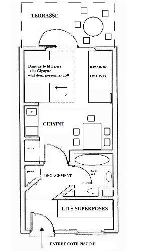 Moliets et maa -    1 chambre