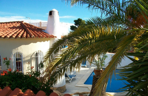 Casa en Benidorm para  8 •   con piscina privada