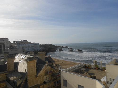 Biarritz -    vue sur mer