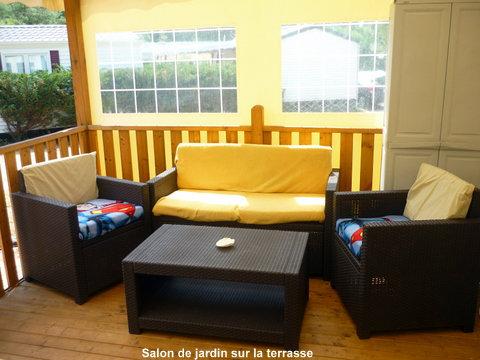 Mobil-home à Sanguinet pour  7 •   3 chambres