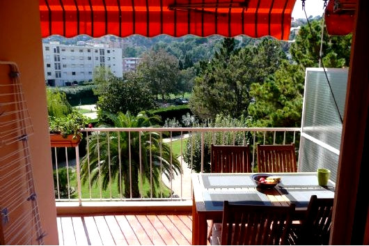 Flat in Mandelieu Capitou - Vacation, holiday rental ad # 40312 Picture #1