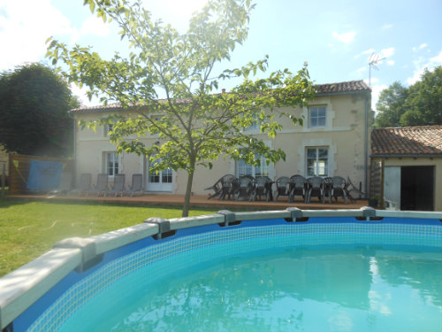 Gite Fenioux - 20 people - holiday home  #40675