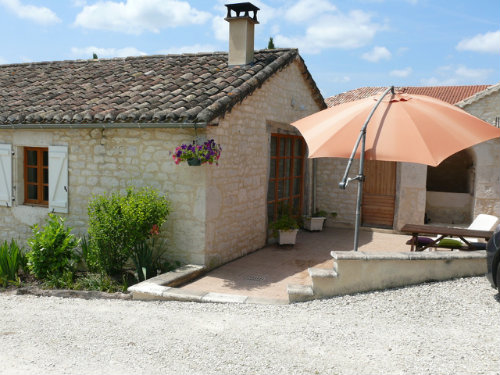 Gite Saint-alauzie - 5 personnes - location vacances  n°40695