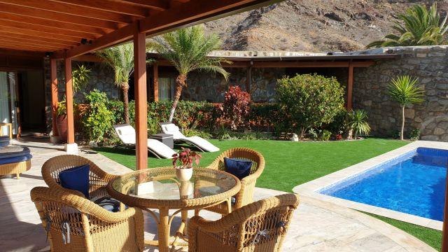 Casa en Anfitauro grande canarie para  6 •   con piscina privada