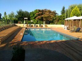 Gite à Mouzens pour  6 •   avec piscine privée