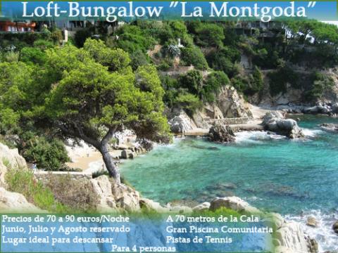 Beach bungalow cala trons -    vue sur mer