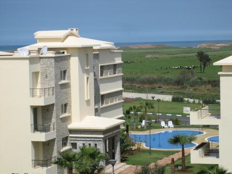 Appartement à Bouznika pour  5 •   vue sur mer
