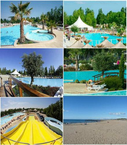 Stacaravan 8 personen Vias -plage - Vakantiewoning  no 41089