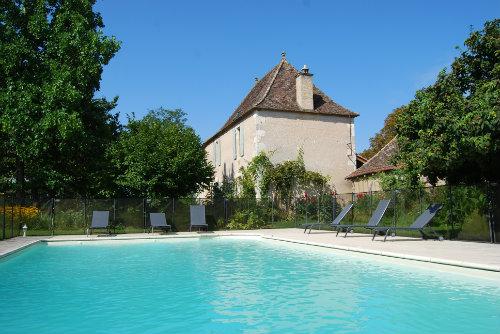 Bauernhof in Villeréal für  2 •   mit Schwimmbad auf Komplex