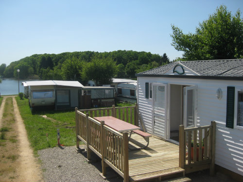 Mobil-home Holving - 5 personnes - location vacances  n°41415