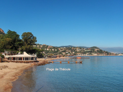 Flat in Theoule sur mer - Vacation, holiday rental ad # 41526 Picture #0