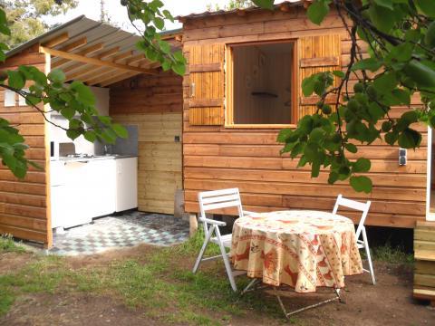 Chalet 3 personen Sausset Les Pins - Vakantiewoning  no 41734