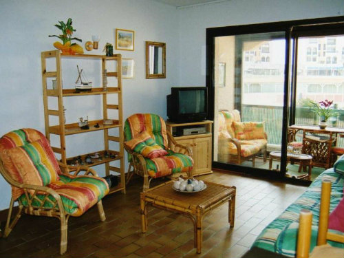 Studio 4 personnes Le Barcares - location vacances  n°41745