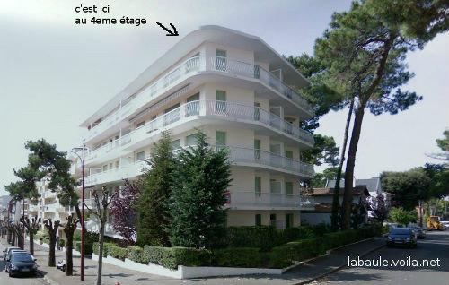 Appartement La Baule Escoublac - 7 personnes - location vacances  n°42112