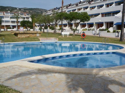 Flat in Alcocebre for   4 •   view on sea