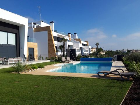 House in Orihuela costa for   11 •   view on sea   #42234