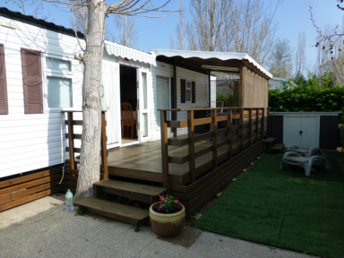 Mobile home in Vias-plage - Vacation, holiday rental ad # 42275 Picture #4