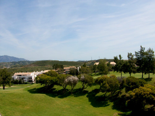 Flat in Golf club miraflores mijas for   4 •   view on sea   #42287
