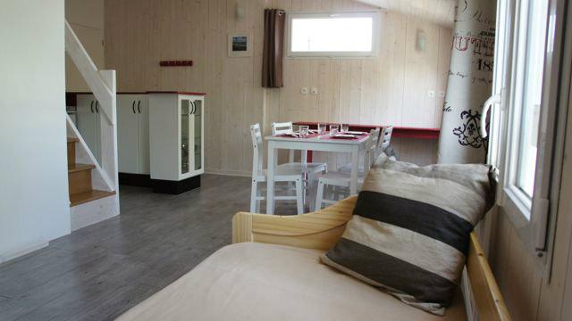 Studio à La rochelle pour  4 •   1 chambre
