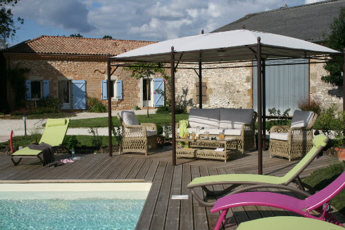Gite in Lacaussade for   7 •   animals accepted (dog, pet...)