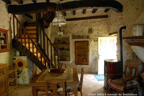 House in MONTSEGUR SUR LAUZON  - Vacation, holiday rental ad # 42396 Picture #2