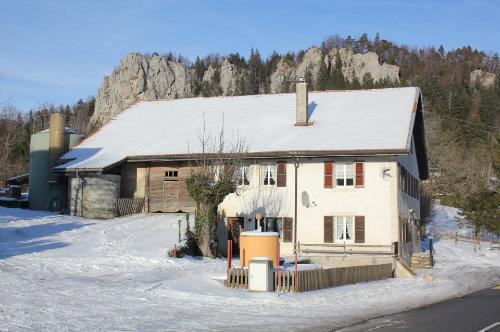 Huis in St-brais voor  7 •   met terras