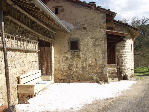 Ferme La Chapelle Agnon - 2 personnes - location vacances  n°42745