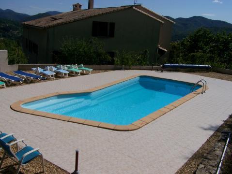 Gite à Le vigan pour  4 •   avec piscine partagée