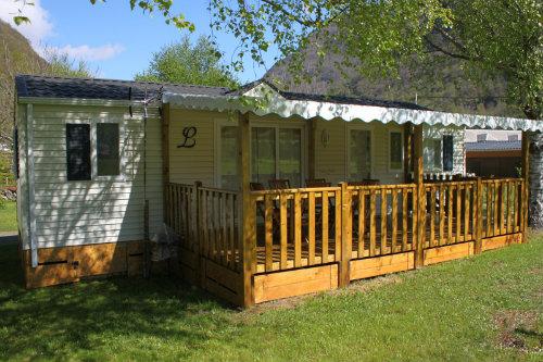 Mobil-home Saligos - 8 personnes - location vacances  n°43203