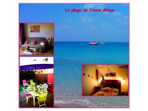 Appartement Trois Ilets - 4 personnes - location vacances  n°43272