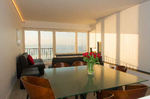 Flat in Oostende for   6 •   view on sea