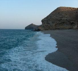 Carboneras -    vue sur mer