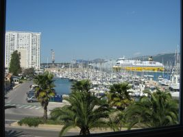 Toulon -    Aussicht aufs Meer