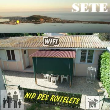 Maison 4 personnes Sète - location vacances  n°44175