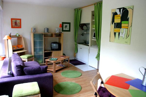 Studio à Paris pour  2 •   1 salle de bains   n°44290