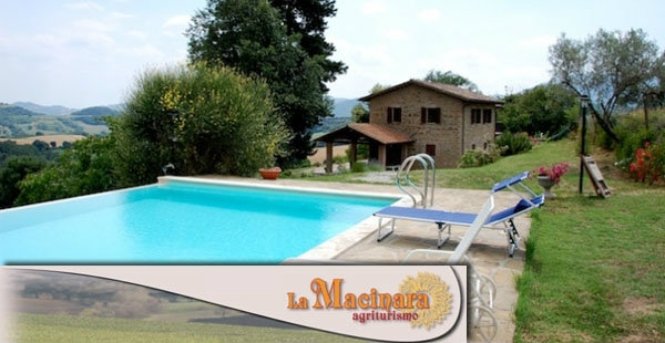 Maison Perugia, Solfagnano - 12 personnes - location vacances  n°44465