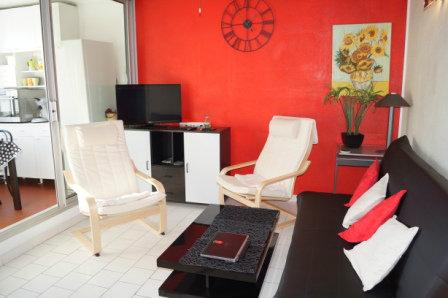 Appartement à Grau du roi pour  6 •   parking privé   n°44525