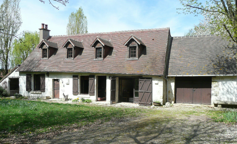 Gite in Chaumont sur loire for   8 •   animals accepted (dog, pet...)