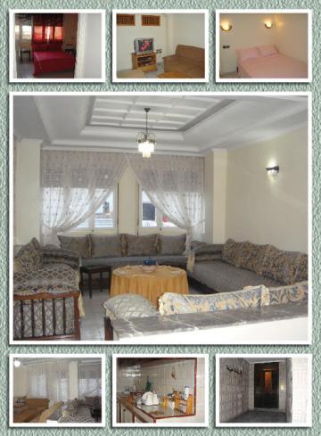Appartement à Casablanca pour  6 •   2 chambres   n°44568