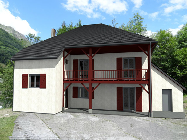 Chalet Cauterets - 24 people - holiday home  #44585