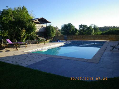 Maison à Saussines pour  6 •   avec piscine privée