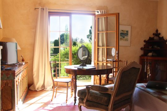 House in Saint Quentin la Poterie - Vacation, holiday rental ad # 44817 Picture #2