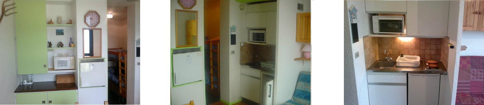 Studio Le Corbier - 4 personnes - location vacances  n°44949